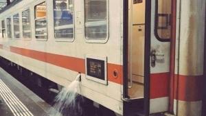 Äußerst seltenes Naturschauspiel: Ein Intercity beim Wasserlassen beobachtet | Lustiges | Was is hier eigentlich los?