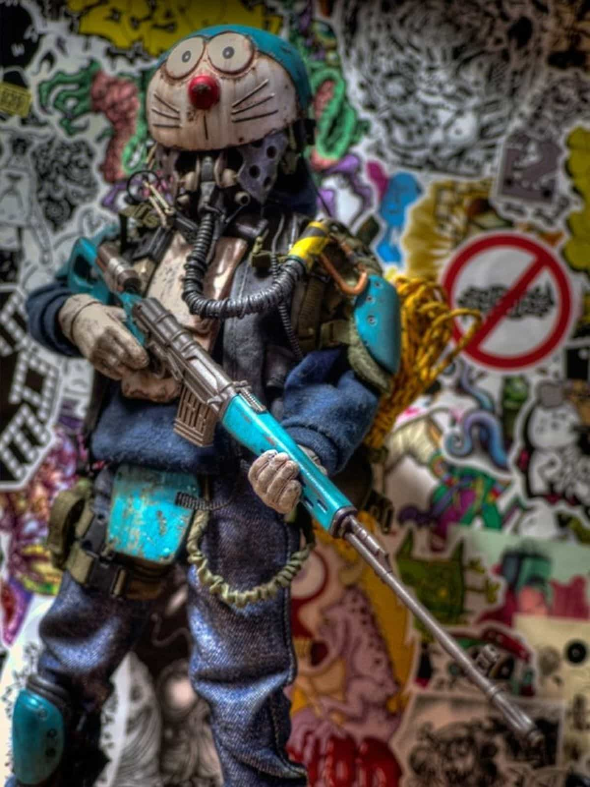 Apokalyptische Spielzeugfiguren von Y. Nakajima | Design/Kunst | Was is hier eigentlich los?
