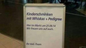 Bei real gibt es jetzt ganz besonderes Kinderschminken | Lustiges | Was is hier eigentlich los? | wihel.de