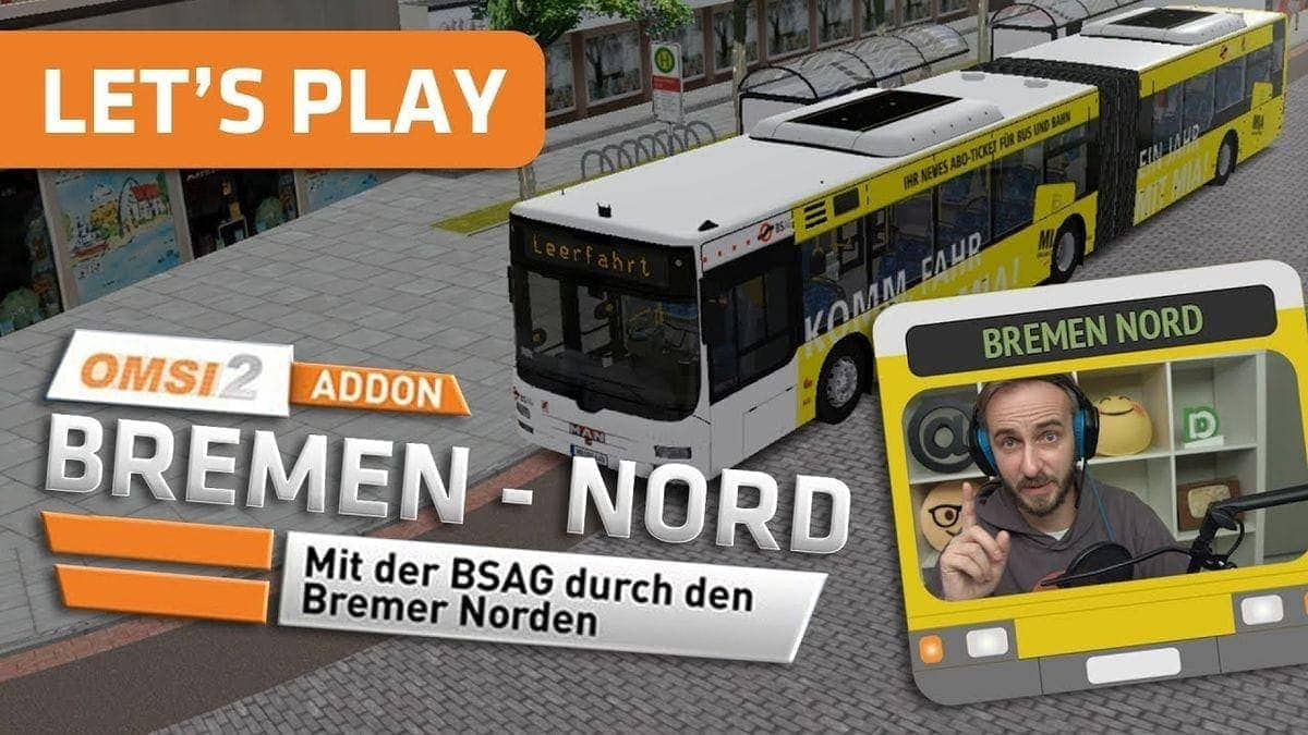 Böhmermann Let's Play: Omnibussimulator 2 – Bremen-Nord Add-On | Nerd-Kram | Was is hier eigentlich los?