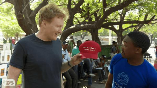 Conan O'Brien zu Gast in Haiti | Lustiges | Was is hier eigentlich los? | wihel.de