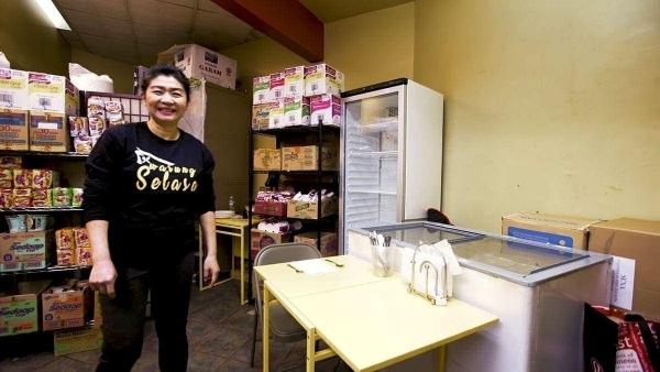 Das wohl kleinste Restaurant in New York | Menschen | Was is hier eigentlich los? | wihel.de