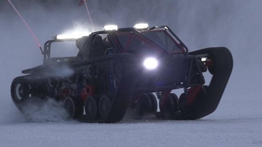 Der Ripsaw EV3F1 - Ein Monster von einem Gefährt | Gadgets | Was is hier eigentlich los?