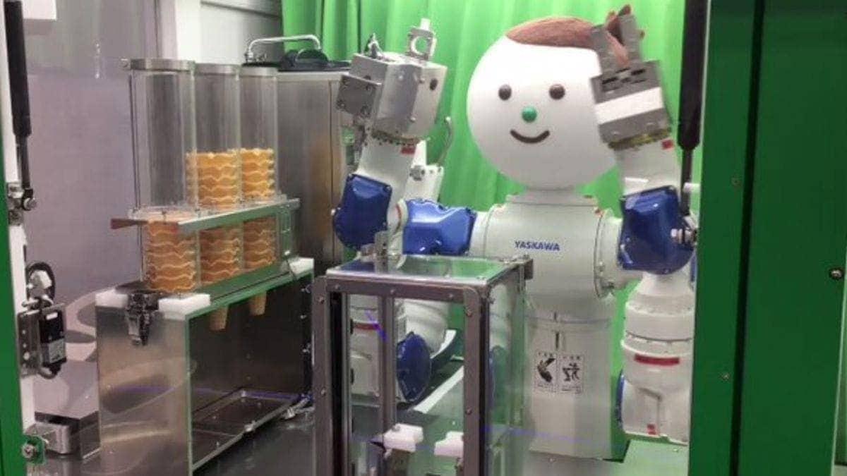 Ein Roboter in Japan, der dir Eiscreme serviert | Gadgets | Was is hier eigentlich los?