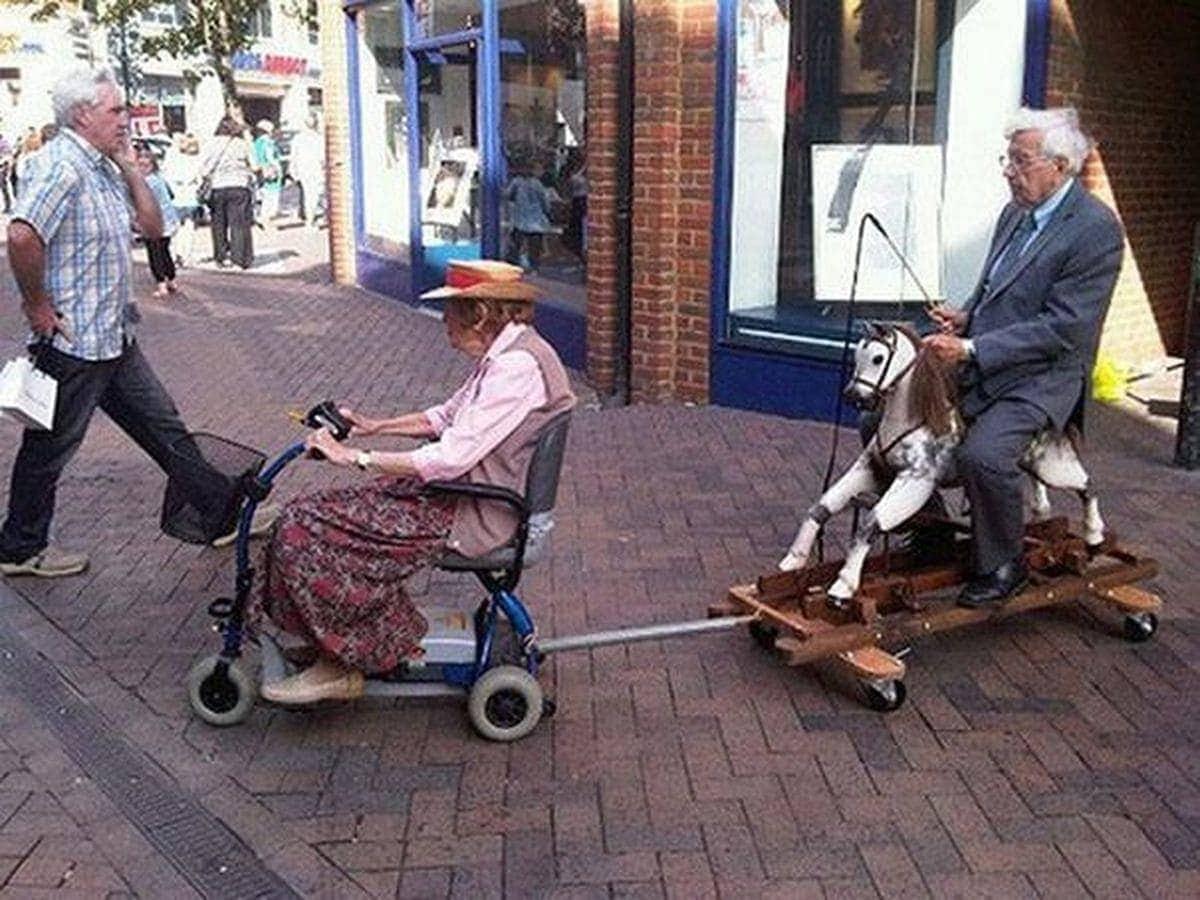 Für Quatsch ist man nie zu alt!   Lustiges   Was is hier eigentlich los?
