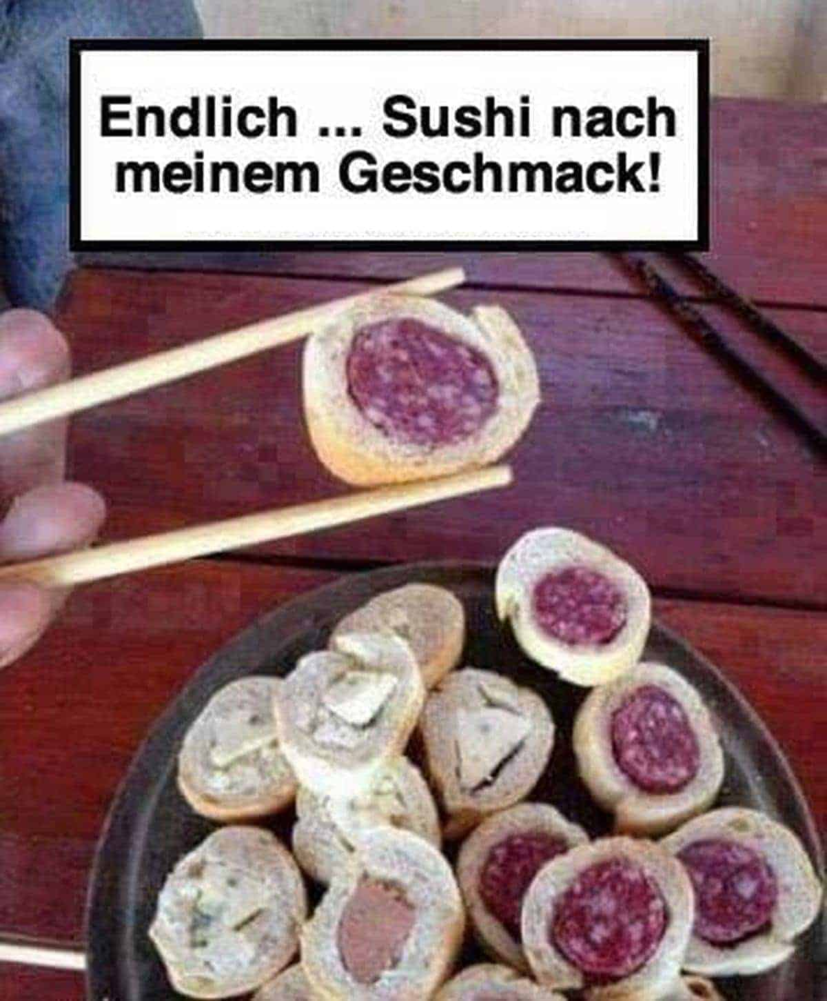 German Sushi Part 2 | Lustiges | Was is hier eigentlich los?
