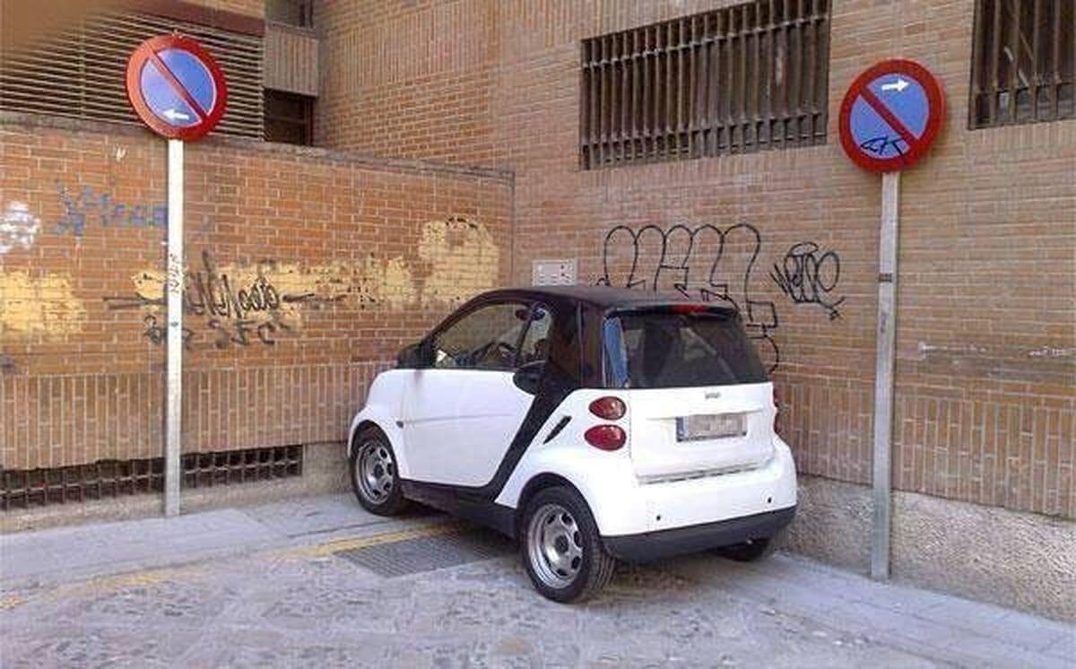 Ist das der einzige Vorteil an einem Smart? | Lustiges | Was is hier eigentlich los?