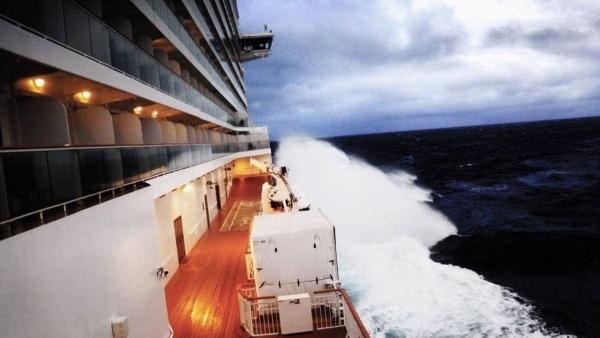 Mit dem Kreuzfahrtschiff im Bomb Cyclone | WTF | Was is hier eigentlich los? | wihel.de