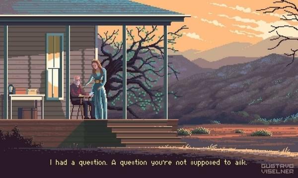 TV-Serien-Pixelkunst von Gustavo Viselner | Kino/TV | Was is hier eigentlich los? | wihel.de