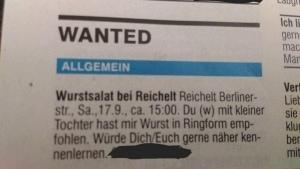 Wurstsalat, der verbindet. Romantik fernab von Parship und Co. | Lustiges | Was is hier eigentlich los?