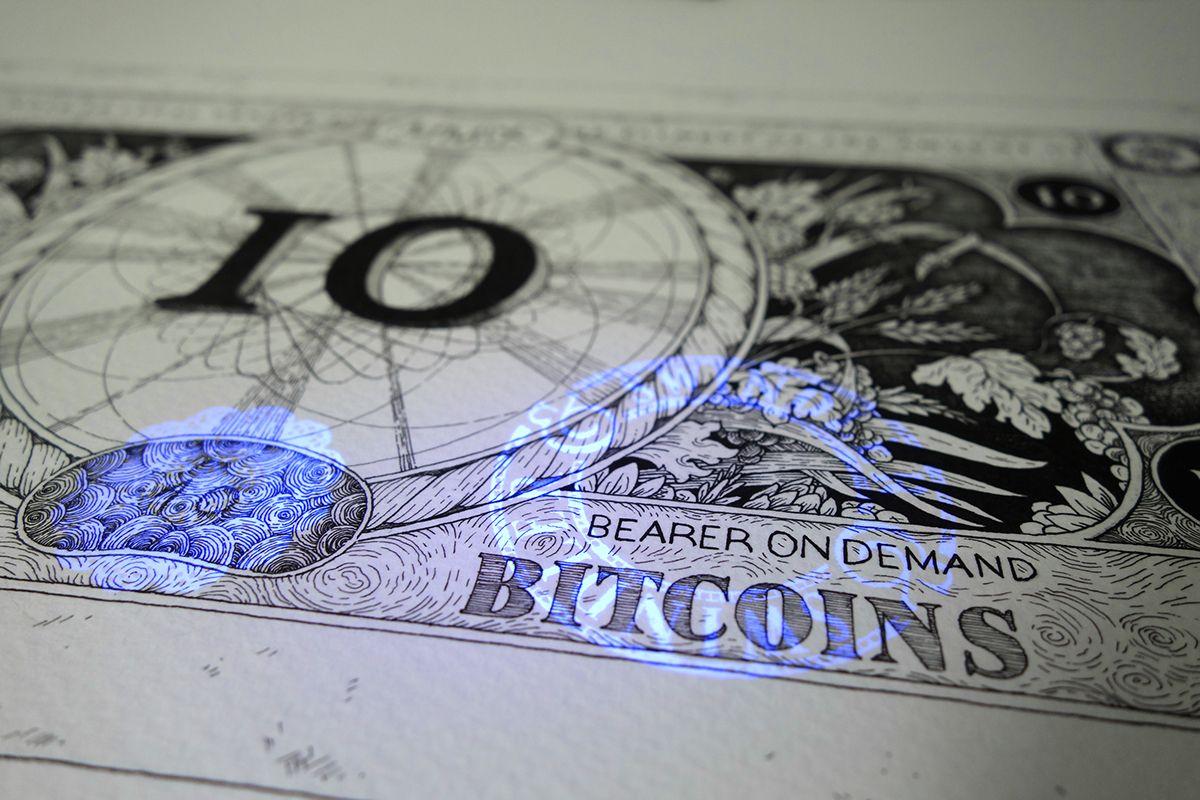 Bitcoin in der Offline-Welt: Swindler & Swindler entwerfen Crypto-Zahlungsmittel | Design/Kunst | Was is hier eigentlich los?