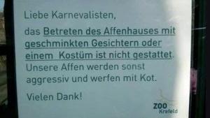 Die einzig angemessene Reaktion auf Karnevalisten | Lustiges | Was is hier eigentlich los? | wihel.de