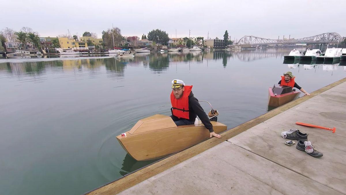 Ein Miniboot für schmales Geld | Gadgets | Was is hier eigentlich los?