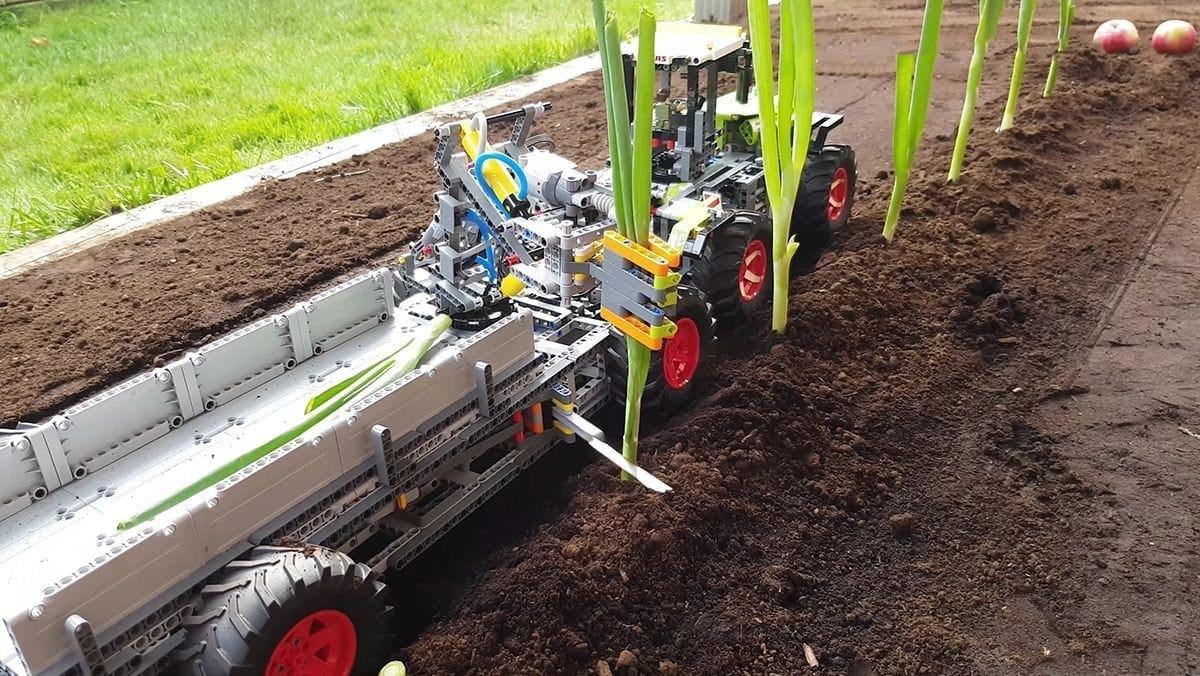 Eine funktionierende LEGO-Erntemaschine | Gadgets | Was is hier eigentlich los?