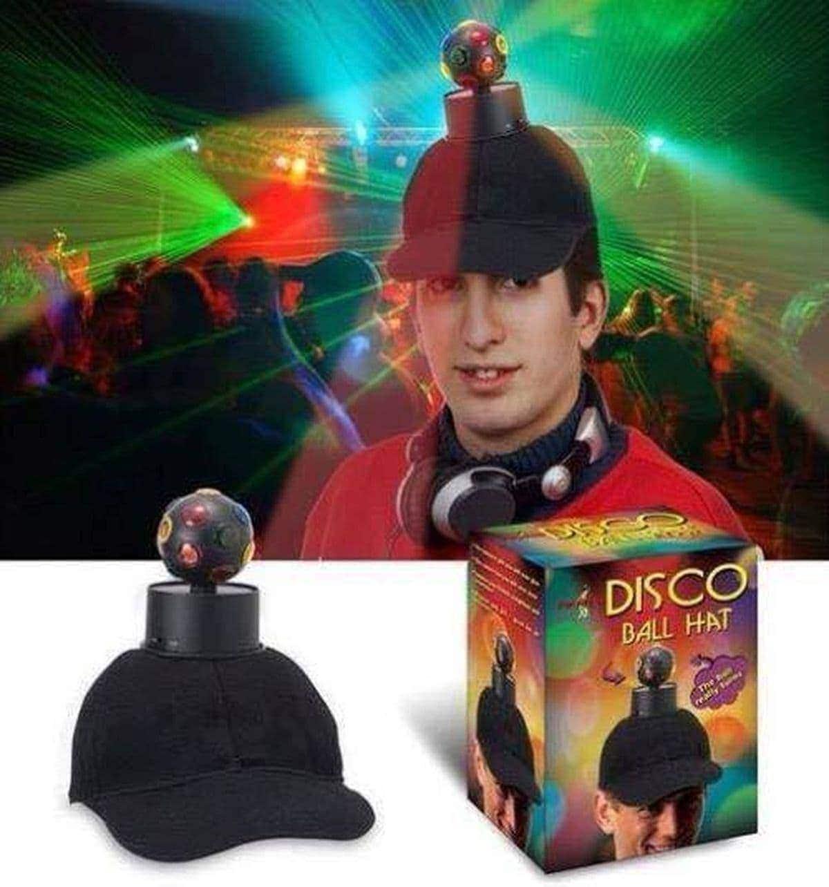 Gadget direkt aus der Hölle: Die Disco-Kugel-Mütze | Lustiges | Was is hier eigentlich los?