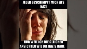 Gedankentüdelüt (86): Wenn man mal mit Nazis zu tun hat ... | Kolumne | Was is hier eigentlich los? | wihel.de