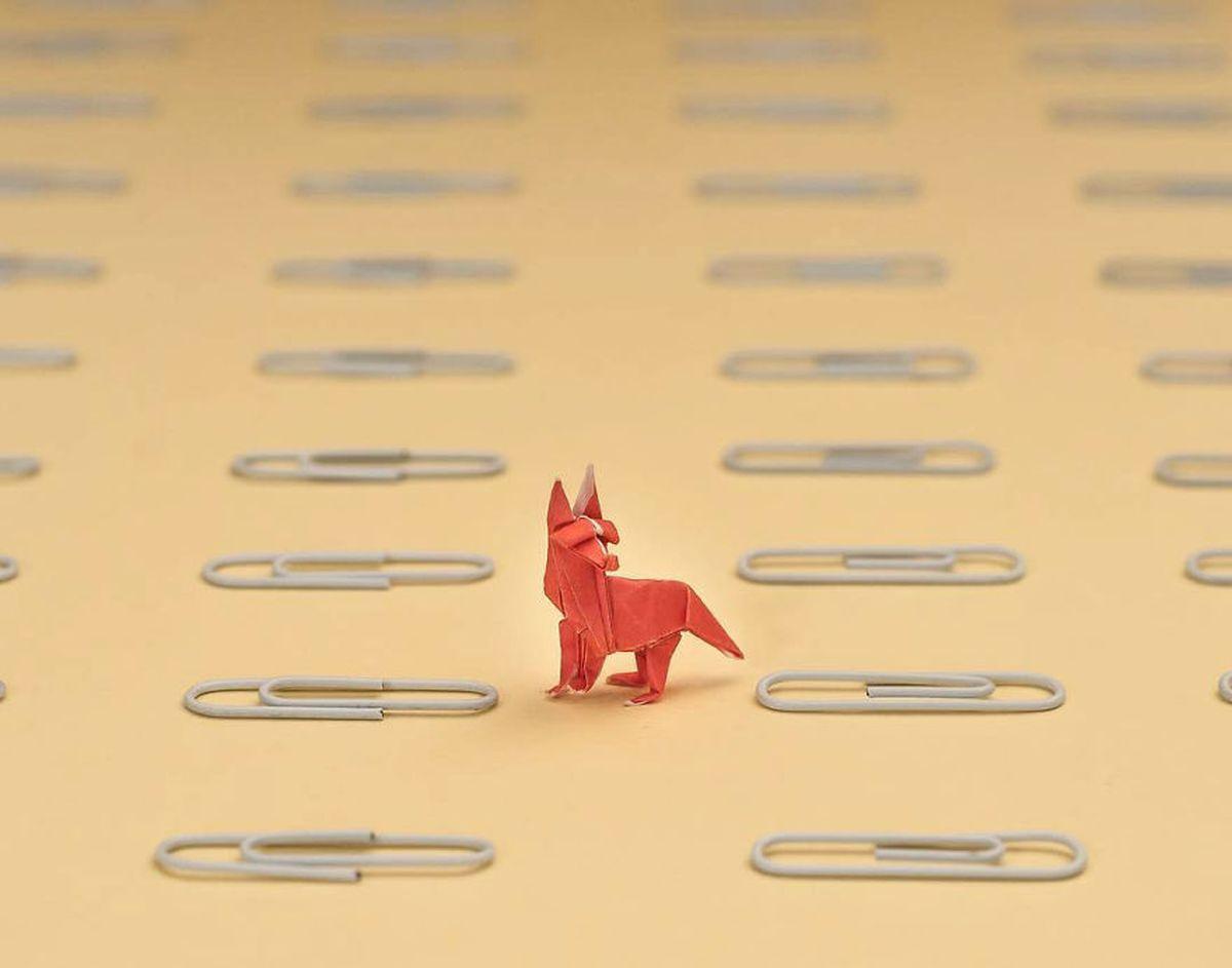 Ross Symons bastelt jeden Tag eine Mini-Origami-Figur | Design/Kunst | Was is hier eigentlich los?