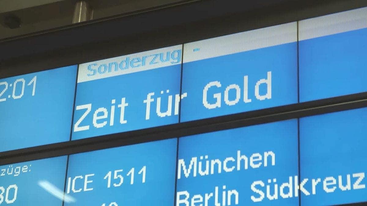 Zeit für Gold - Die Deutsche Bahn, das Olympia Team Deutschland und die Deutsche Paralympische Mannschaft | sponsored Posts | Was is hier eigentlich los?