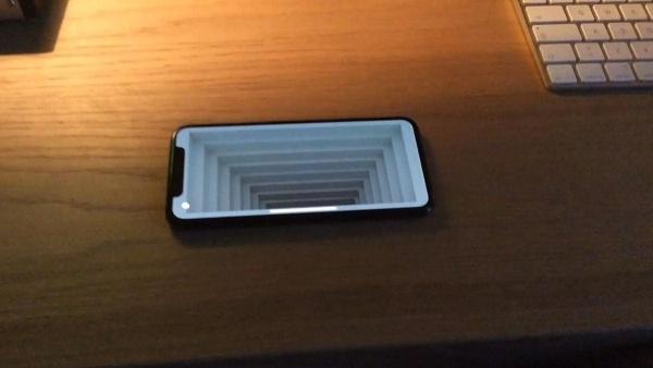 Coole optische Illusion mit dem iPhone X | Gadgets | Was is hier eigentlich los?