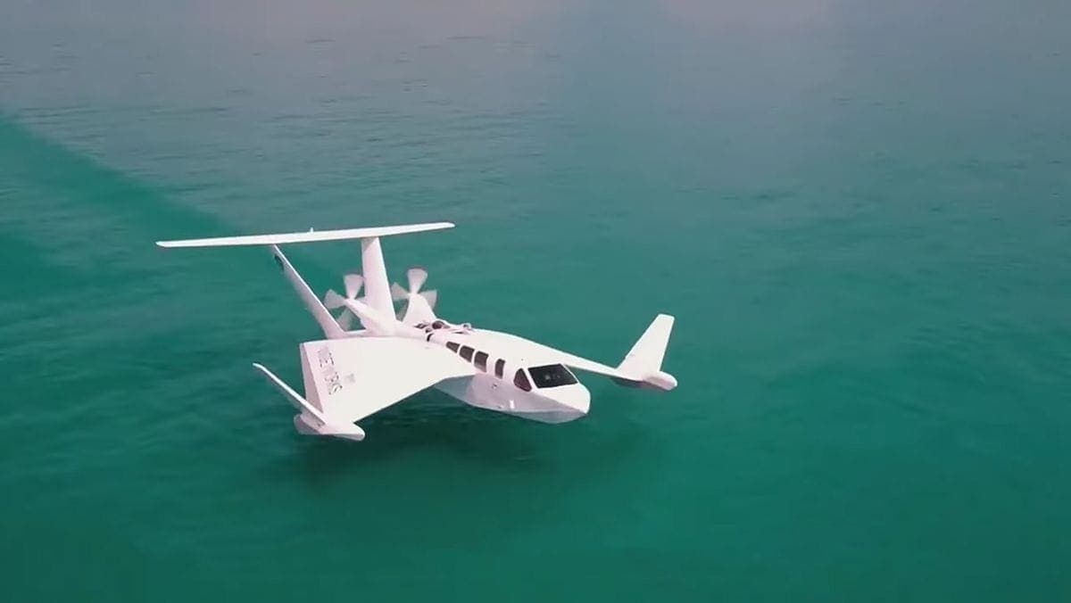 Das ist das Flugtaxi von Dorothee Bär: Der Airfish AF-8 | Gadgets | Was is hier eigentlich los?