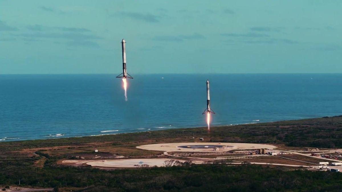 Das offizielle Video zum Falcon Heavy-Start | Awesome | Was is hier eigentlich los?