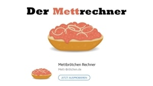 Der Mettrechner | Lustiges | Was is hier eigentlich los?