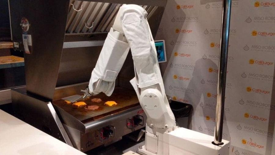 Ein Burgerbratroboter in Aktion | Gadgets | Was is hier eigentlich los?