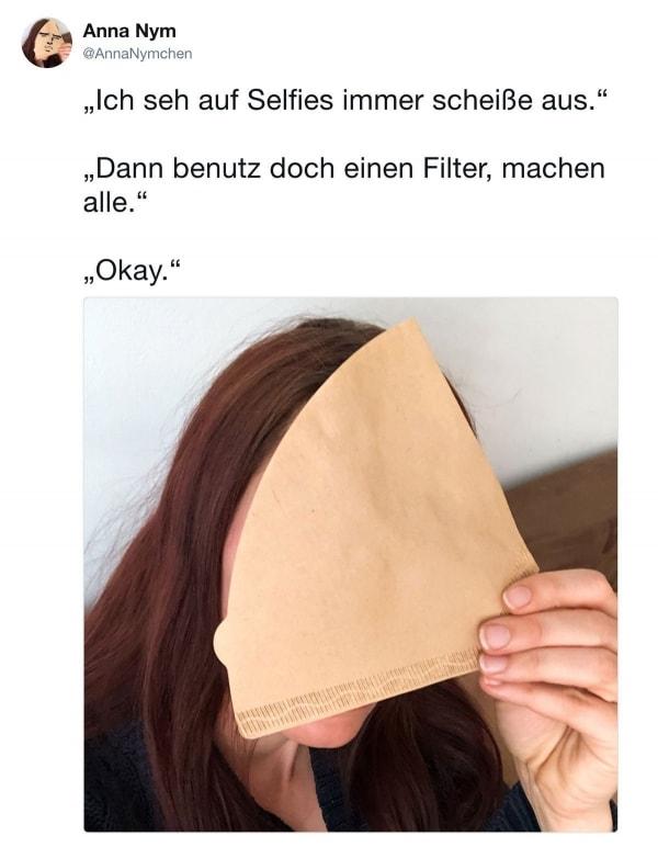 Es gibt einen neuen Filter für eure Selfies | Lustiges | Was is hier eigentlich los? | wihel.de