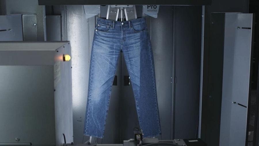 Wie man bei Levis den Jeans-Hosen ihren Look verpasst | Gadgets | Was is hier eigentlich los?