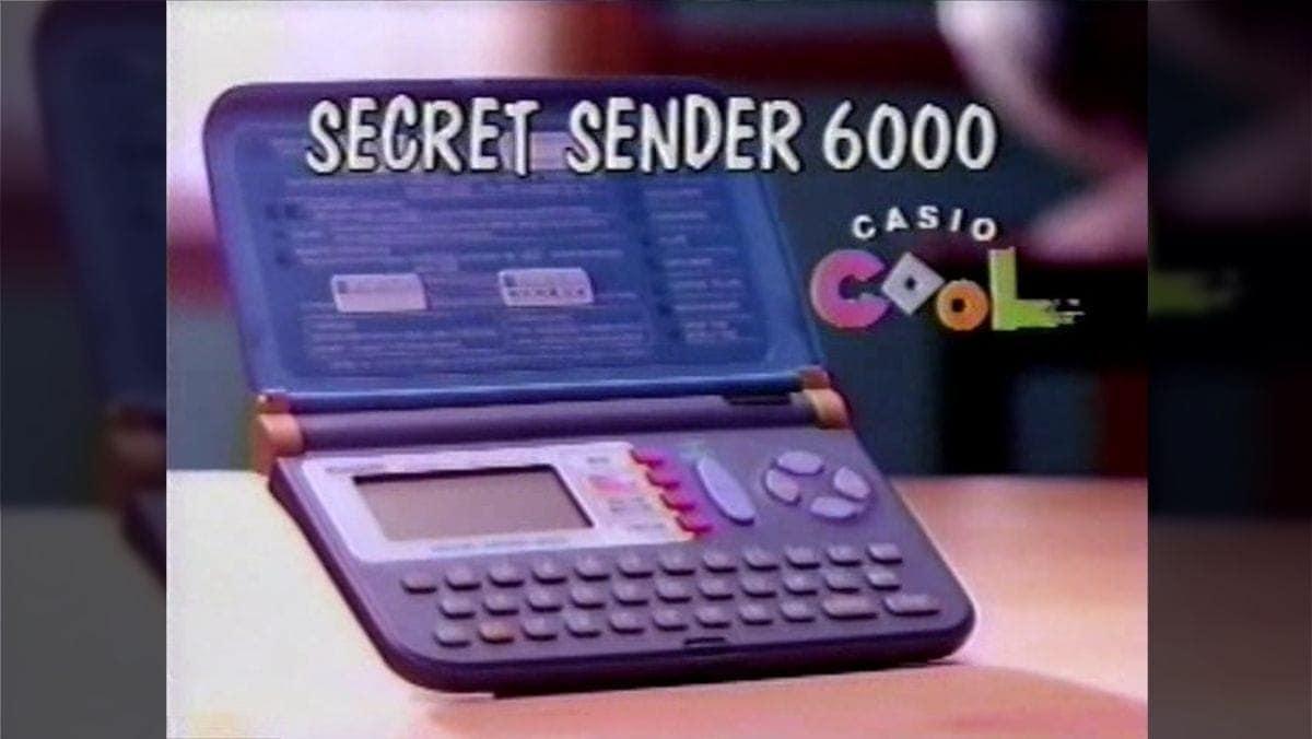 Der Casio Secret Sender 6000 – Ein Taschenrechner, der seiner Zeit voraus war | Gadgets | Was is hier eigentlich los?