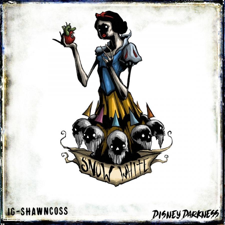 Disney Darkness – Disney-Figuren von nicht ganz so nett von Shawn Coss   Design/Kunst   Was is hier eigentlich los?