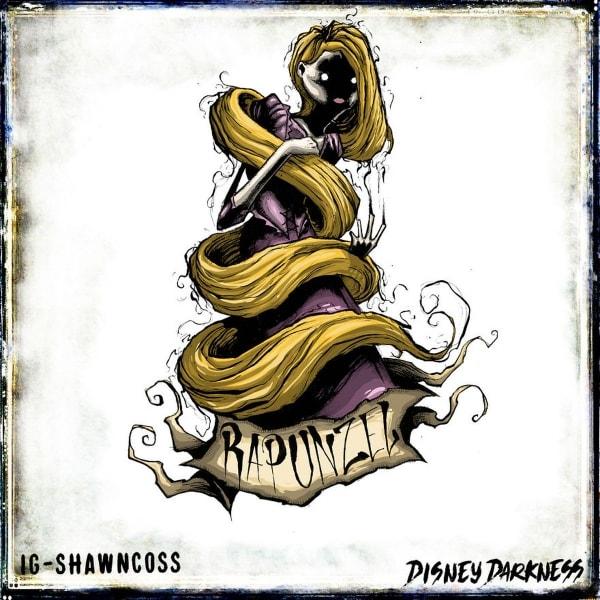 Disney Darkness – Disney-Figuren von nicht ganz so nett von Shawn Coss | Design/Kunst | Was is hier eigentlich los?