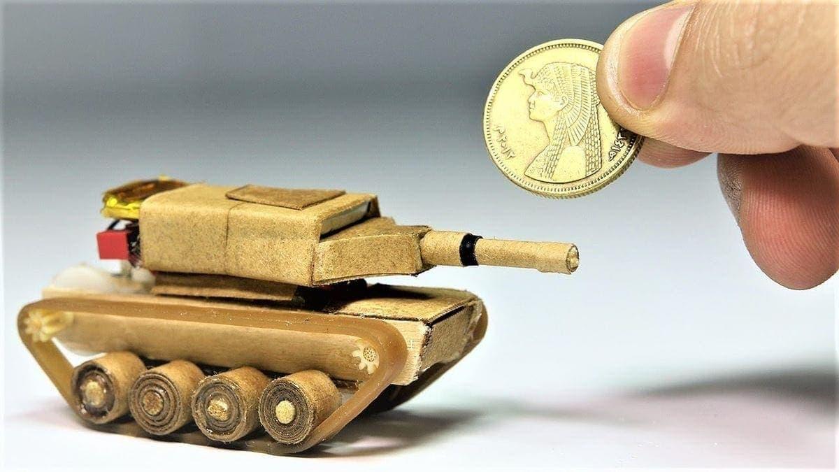 Ein DIY-Panzer in der Mikro-Ausgabe | Gadgets | Was is hier eigentlich los?