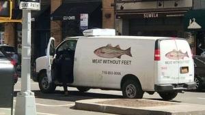 Fisch oder auch: Fleisch ohne Füße | Lustiges | Was is hier eigentlich los?