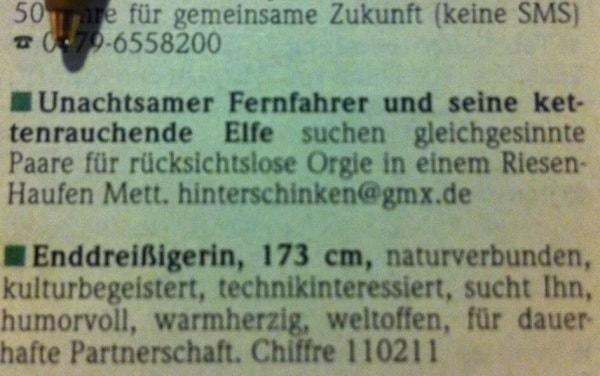 Jemand Bock auf eine rücksichtslose Orgie in Mett? | Lustiges | Was is hier eigentlich los? | wihel.de