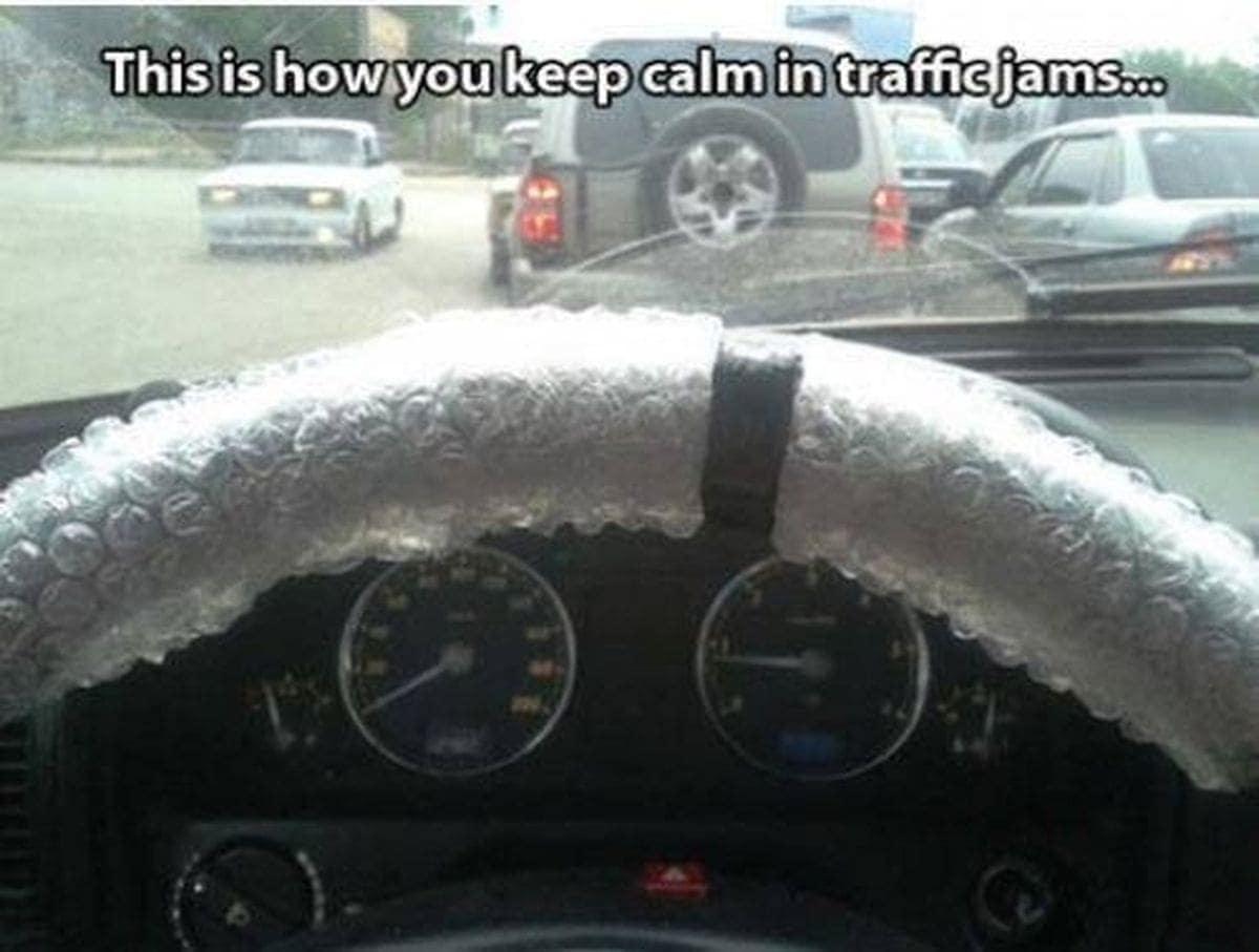 Wenns im Berufsverkehr mal wieder nicht läuft | Lustiges | Was is hier eigentlich los?