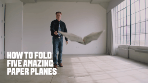 Wie man 5 unterschiedliche Papierflieger bastelt | Was gelernt | Was is hier eigentlich los? | wihel.de