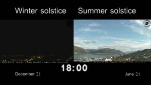 Winter- und Sommersonnenwende in Vergleich | Awesome | Was is hier eigentlich los? | wihel.de