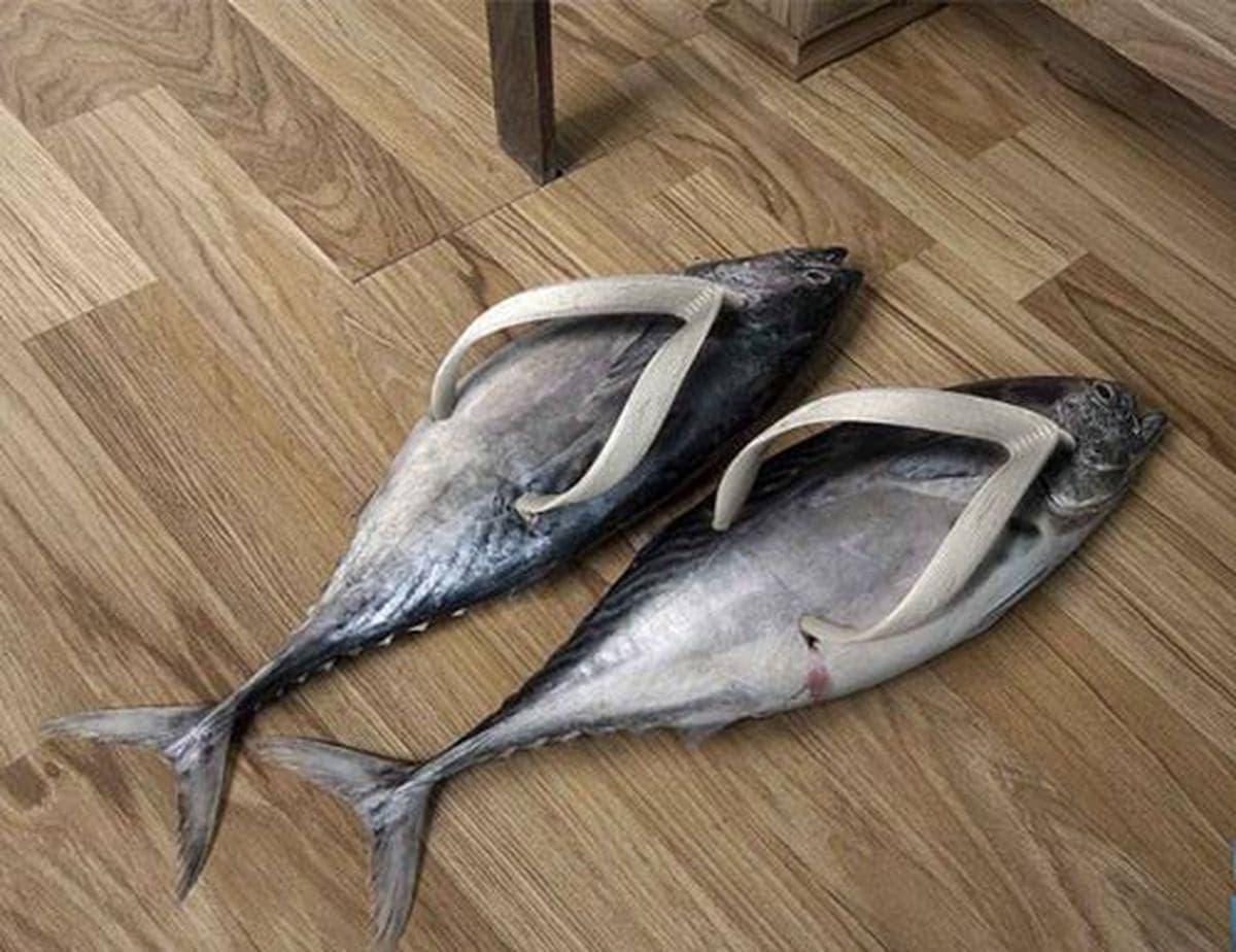 Der Trend für diesen Sommer: Forellen-Flip Flops | Lustiges | Was is hier eigentlich los?