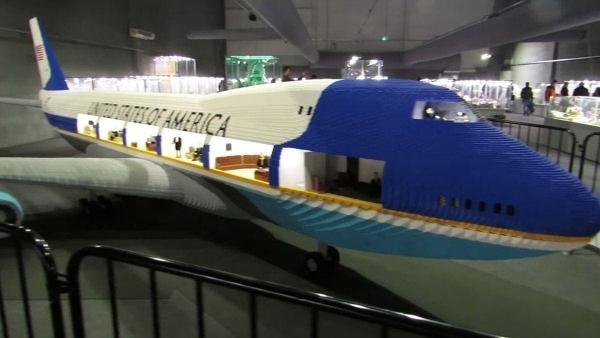 Die Air Force One mit LEGO in groß nachgebaut | Gadgets | Was is hier eigentlich los? | wihel.de