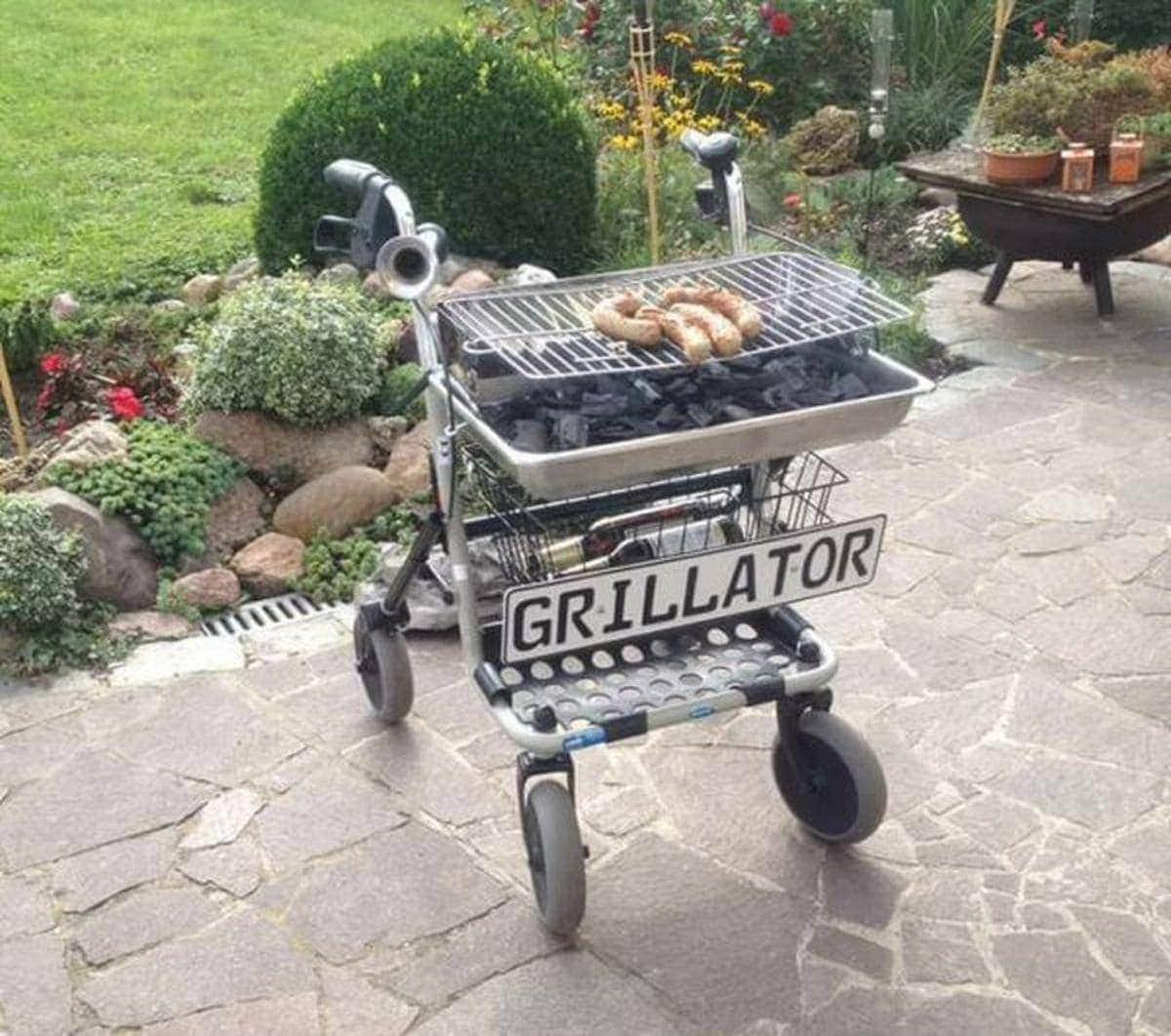 Ein Grillator | Lustiges | Was is hier eigentlich los?