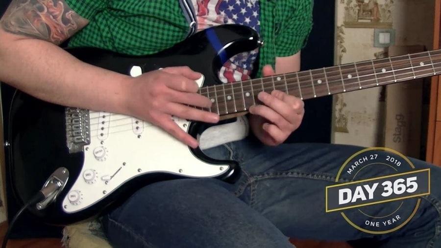Ein Jahr autodidaktisch Gitarre spielen lernen | Menschen | Was is hier eigentlich los?