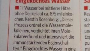 Mal was Neues: Eingekochtes Wasser | Lustiges | Was is hier eigentlich los? | wihel.de