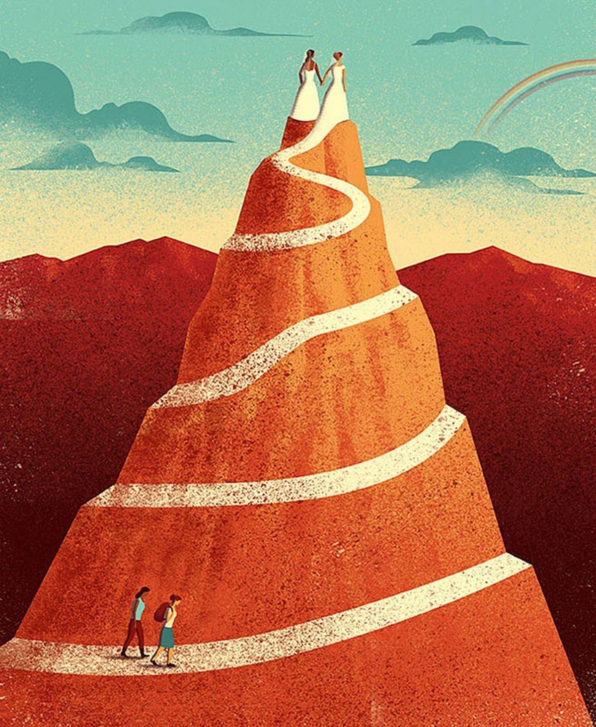 Tolle Illustrationen von Davide Bonazzi, bei denen man zwei Mal hinschauen sollte | Design/Kunst | Was is hier eigentlich los?