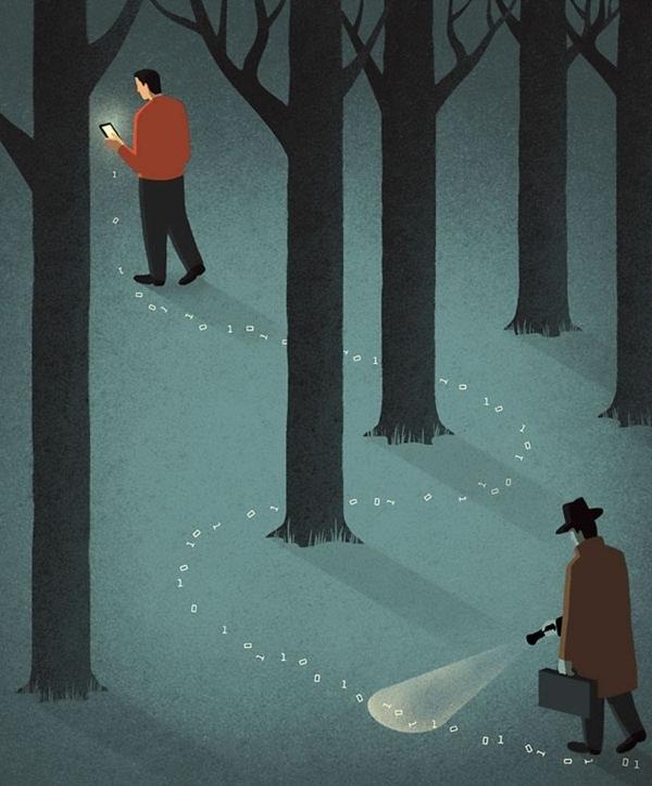 Tolle Illustrationen von Davide Bonazzi, bei denen man zwei Mal hinschauen sollte | Design/Kunst | Was is hier eigentlich los? | wihel.de