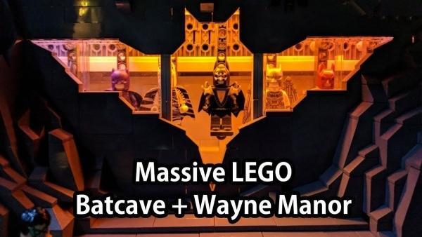 Batmans Höhle und Wayne Manor in LEGO nachgebaut | Nerd-Kram | Was is hier eigentlich los? | wihel.de