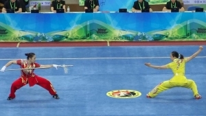 Bei den Wushu-Spielen 2014 | Awesome | Was is hier eigentlich los?