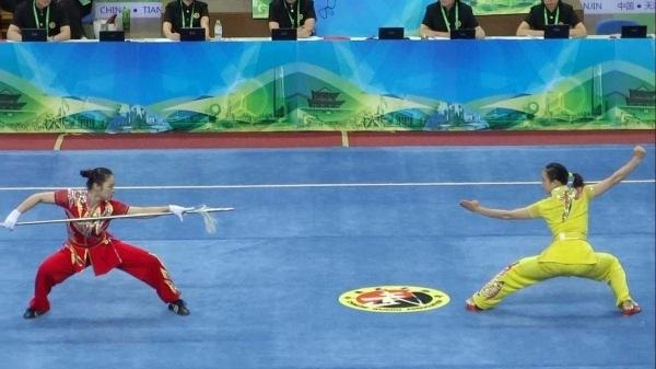 Bei den Wushu-Spielen 2014   Awesome   Was is hier eigentlich los?