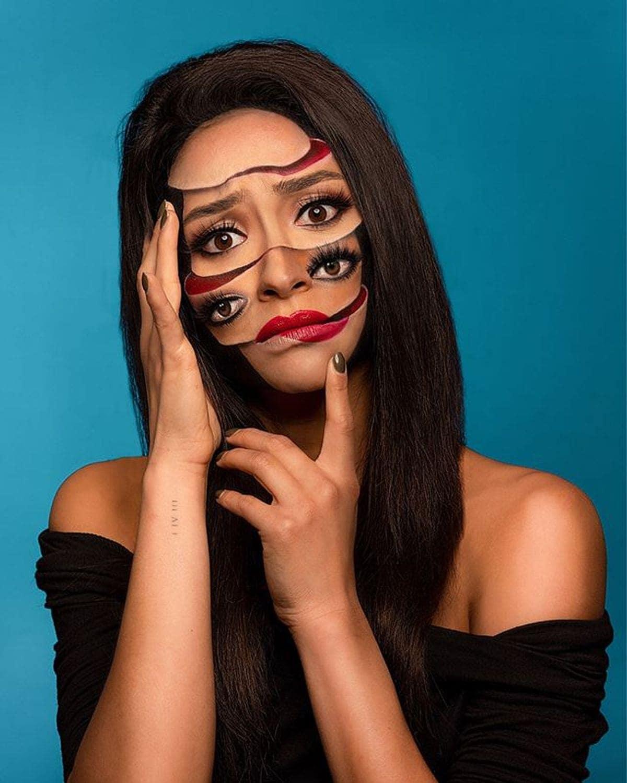 Starke Make-Up-Kunst von Mimi Choi | Design/Kunst | Was is hier eigentlich los?