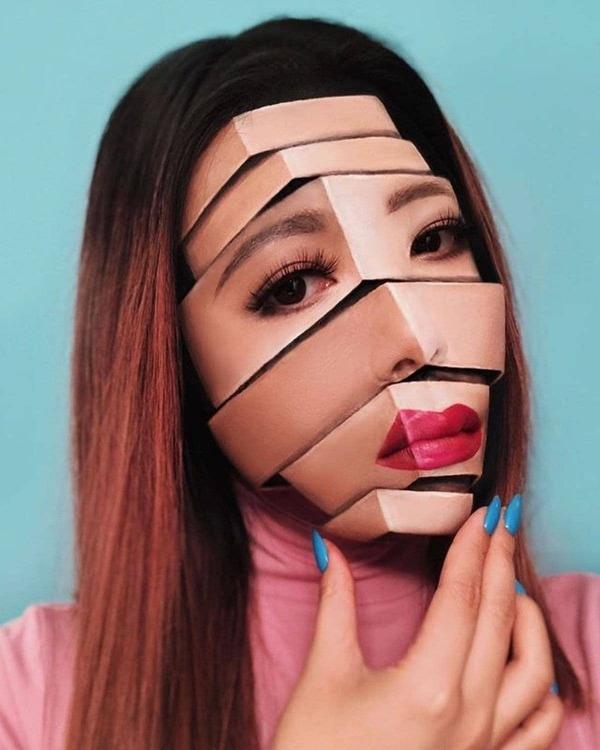 Starke Make-Up-Kunst von Mimi Choi | Design/Kunst | Was is hier eigentlich los? | wihel.de
